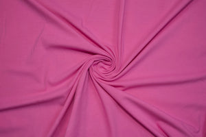 Beefy Italian Cotton Lycra Jersey - Rose
