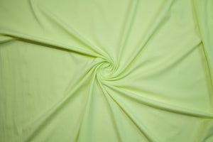 Beefy Italian Cotton Lycra Jersey - Lime