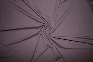 1 ¾ yards of Beefy Italian Cotton Lycra Jersey - Bittersweet Chocolate