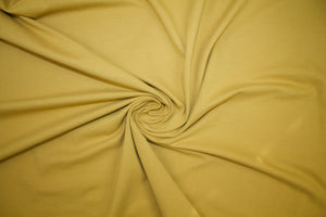Beefy Italian Cotton Lycra Jersey - Gold Harvest