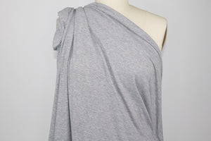 1 1/4+ yards of Classic Cotton Jersey - Heathered Gray