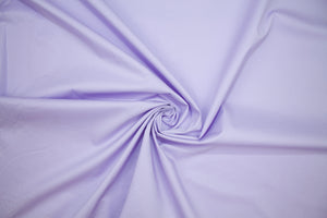 NY Designer Stretch Cotton Shirting - Light Purple