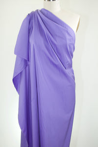 Stretch Cotton Poplin - Purple Iris