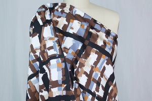 Windows on Your World - Cotton Sateen - Brown Tones