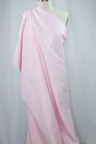 Stretch Cotton Sateen - Cotton Candy Pink