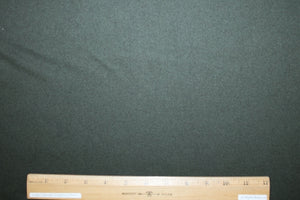 NY Designer Wool Melton Coating - Dark Moss