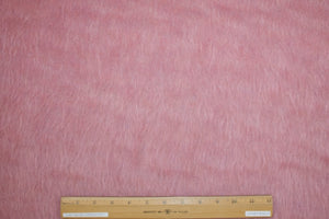 Italian Couture Mohair Blend Coating - Dusky Rose