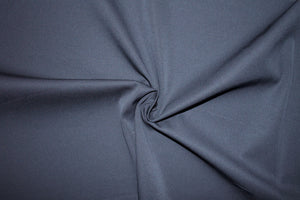 Italian Bottom-weight Stretch Cotton Twill - Black