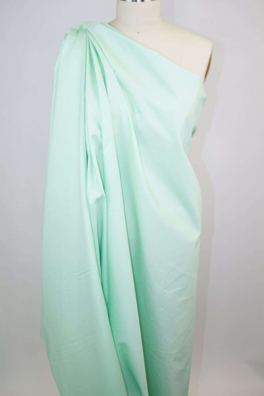 NY Designer Mid-Weight Cotton Twill - Mint