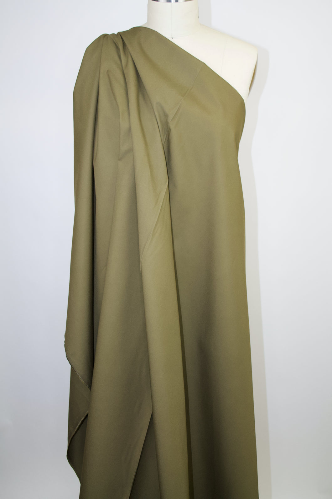 Bottom Weight Italian Cotton - Deep Olive