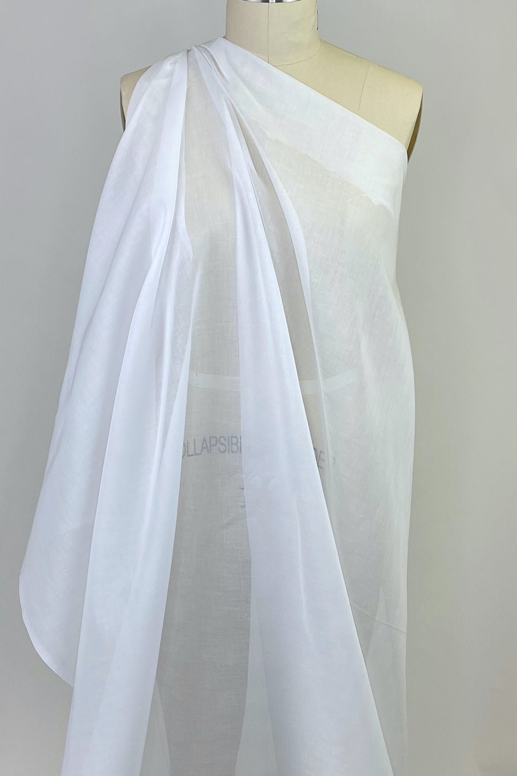 Swiss Cotton Voile - White