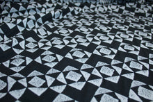 Diamonds are... Ponte Knit - Black/White