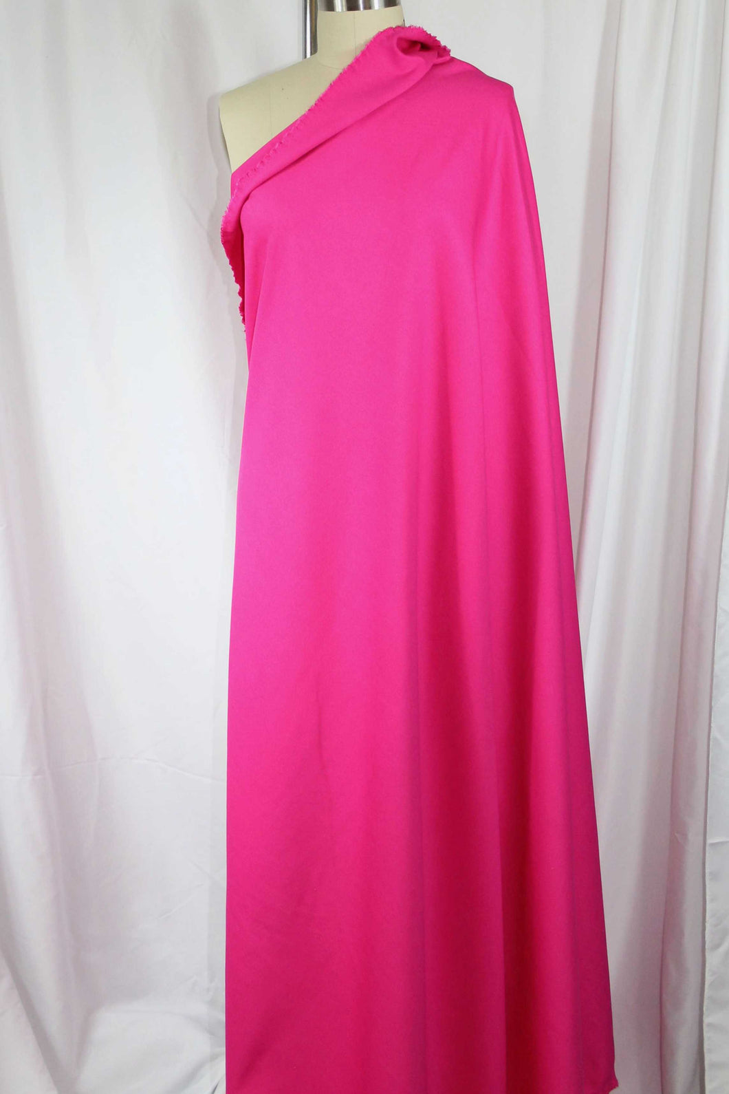 Designer Rayon Double Knit - Bright Pink