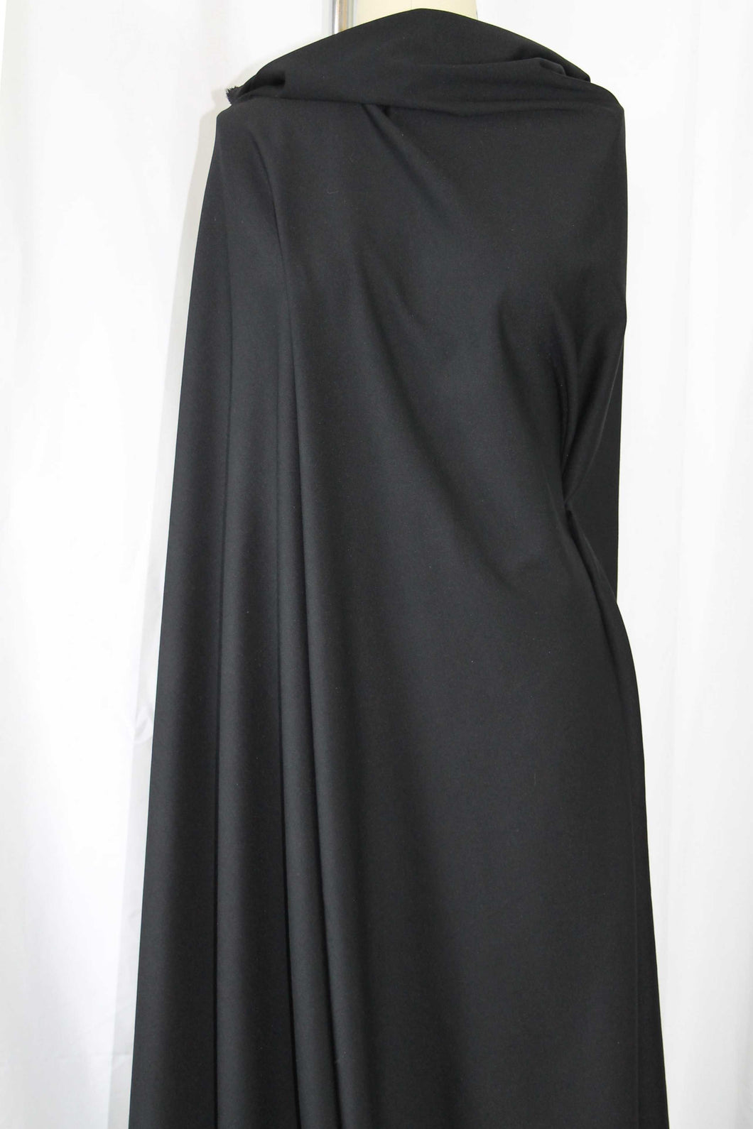 Designer Rayon Double Knit - Black