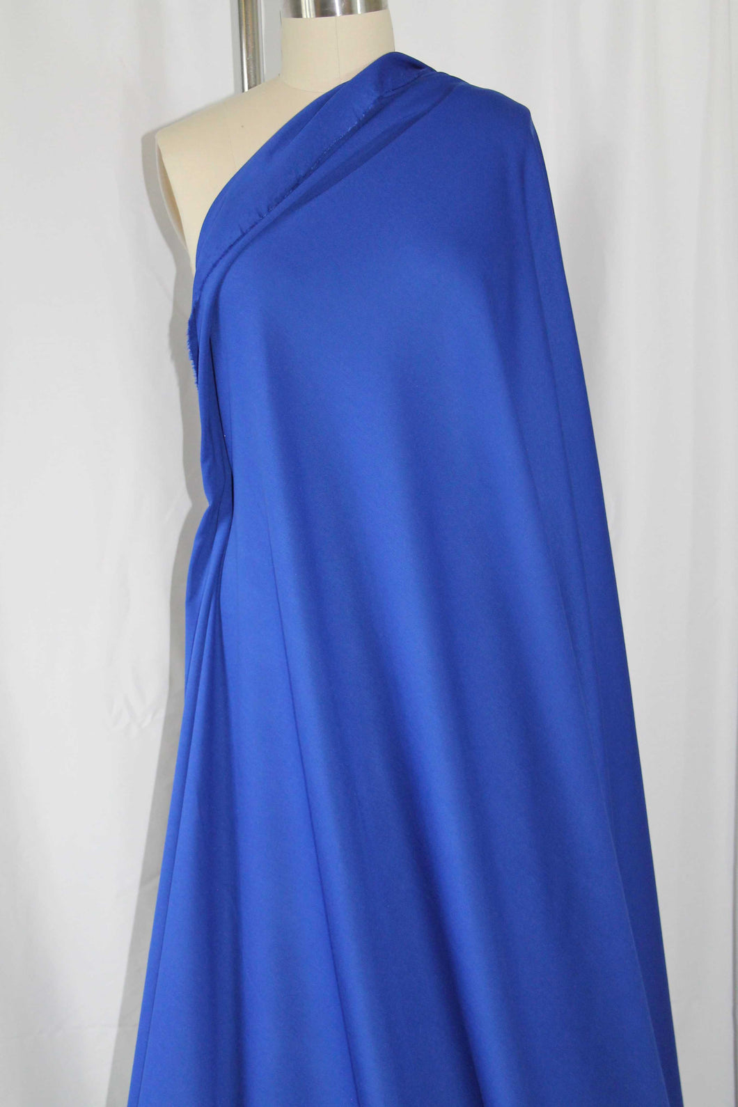 Designer Rayon Double Knit - Royal Blue
