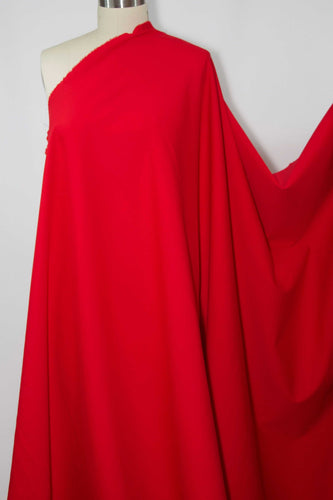 Designer Rayon Double Knit - Chinese Red