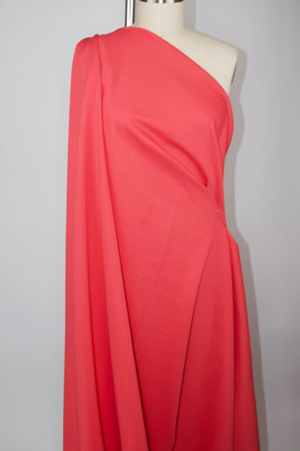 Designer Rayon Double Knit - Coral