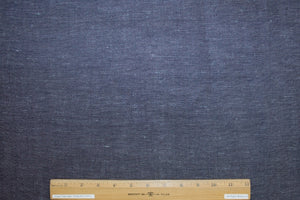 1 7/8+ yards of Japanese Double Selvage Denim - Dark Blue/White
