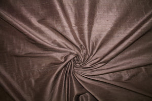 Bets3y J0hnson Wide Silk Dupioni - Chocolate