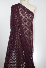 Diamonds are a Gurl's Best Friend Guipure Lace - Deep Burgundy