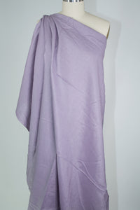 3/4+ yards of Italian Blouse Weight Linen  - Purple Ash