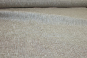 Italian Handkerchief Linen - Heathered Brown