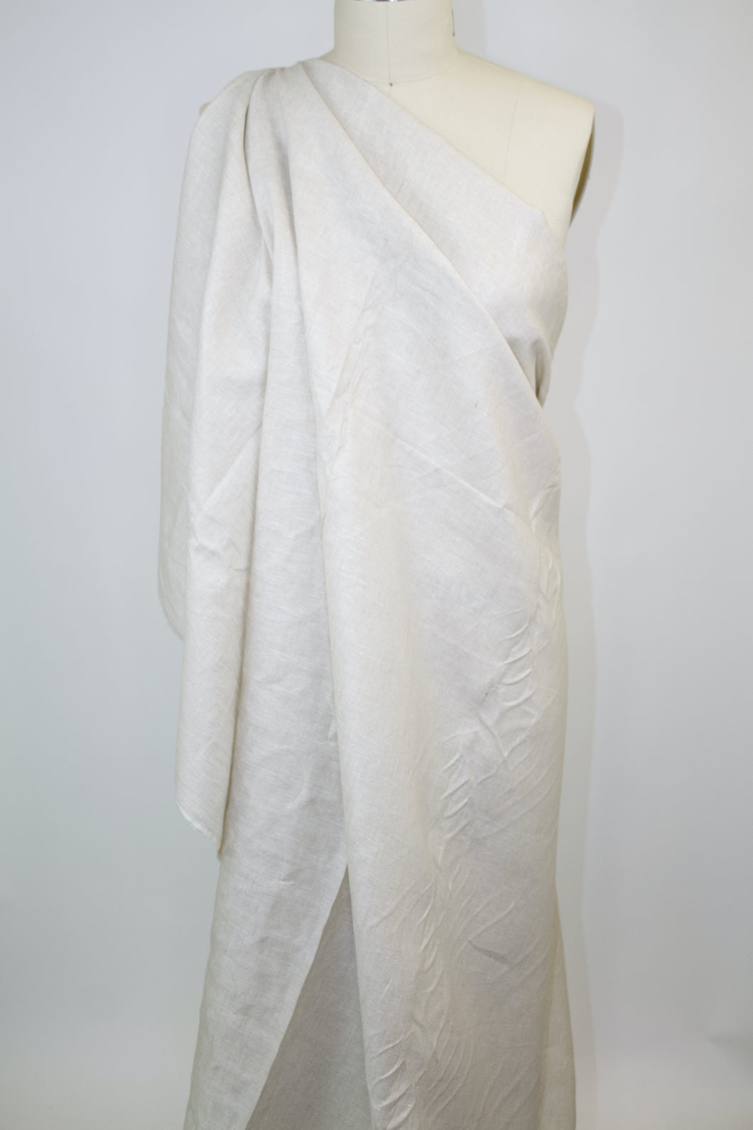 Italian Blouse Weight Linen - Natural