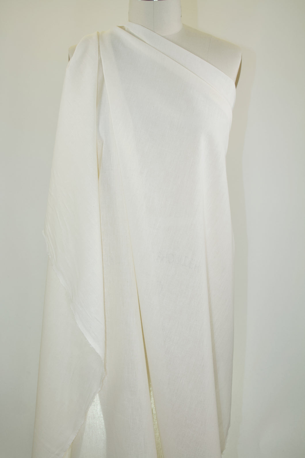 Soft, Blouse-Weight 48 Inch Wide Unbleached Muslin