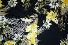 Jonquil Paradise ITY Jersey - Yellow Tones on Black