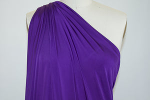 Goldilocks Solid ITY Jersey - Royal Purple