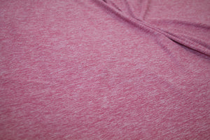 Double Brushed ITY Jersey - Heathered Rose