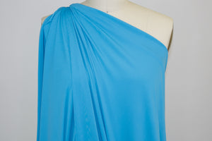 Goldilocks Solid ITY Jersey - Cyan