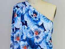 Potent Pansies Floral ITY - Blues/Red/White