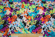Impressionistic Floral ITY Jersey - Multi Brights