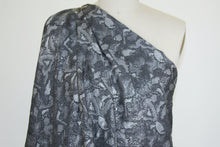 J0nes NY Abstract Brocade - Black/Gray/Silver