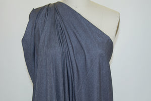 NY Designer Lightweight Taffeta Raincoating - Heathered Gray