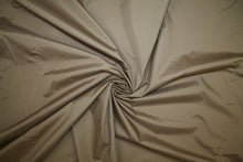 NY Designer Satin Raincoating - Tabac