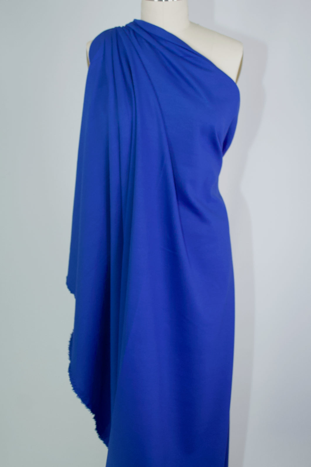 Extra Wide Designer Rayon Double Knit - Royal Blue