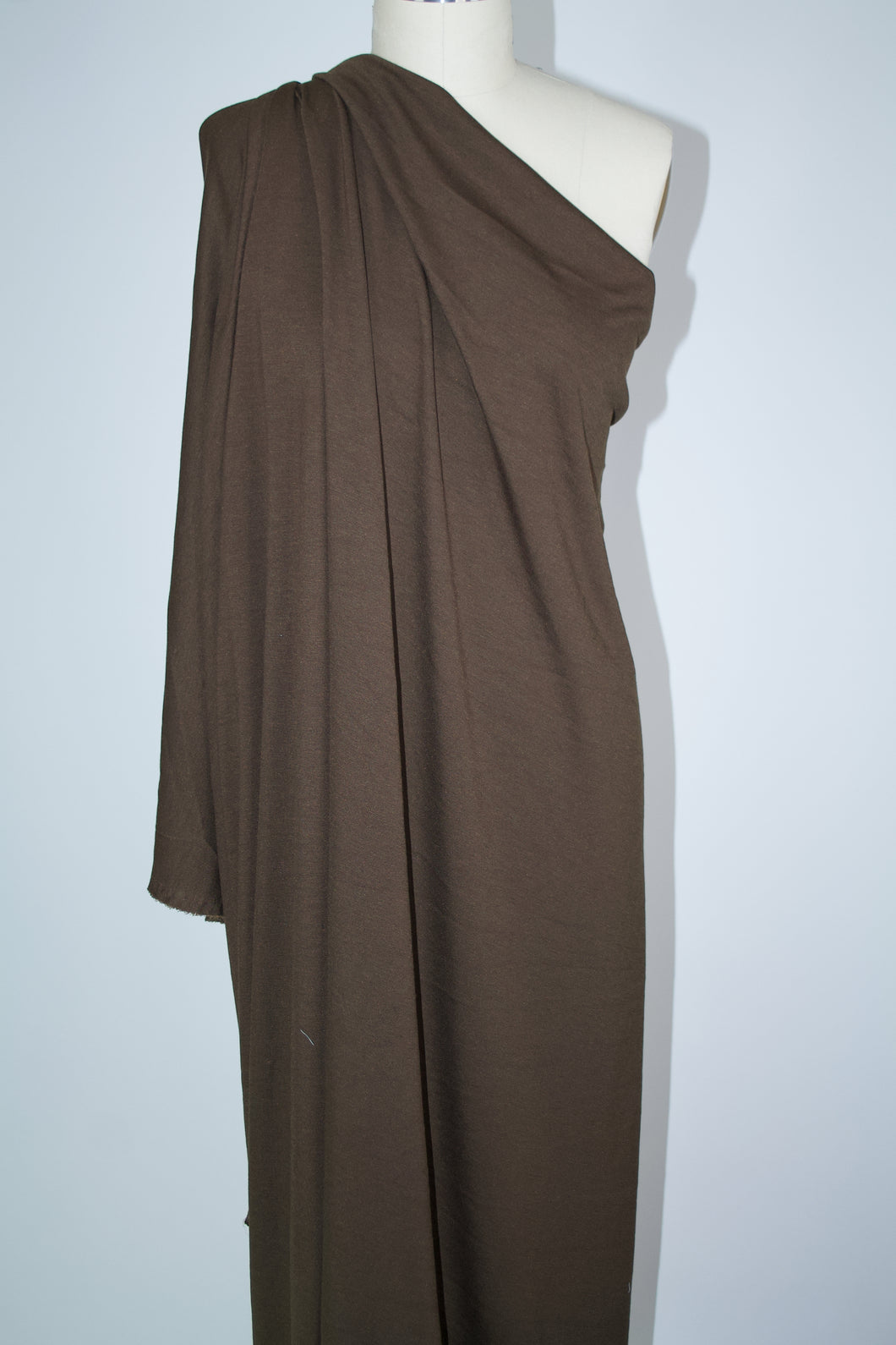 Designer Rayon Double Knit - Chocolate Brown
