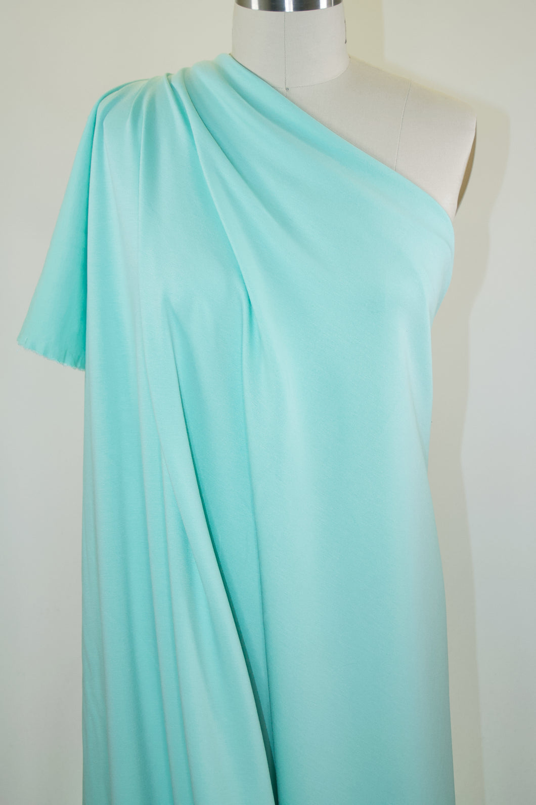 Designer Rayon Double Knit - Soft Mint