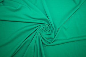 1 3/4 yards of Designer Rayon Double Knit - Kelly Green - AS IS