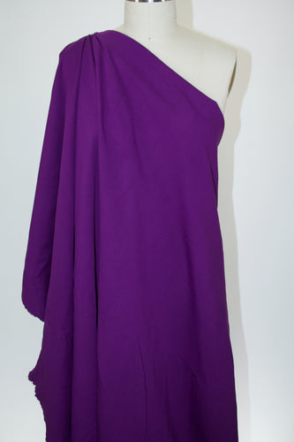 Designer Rayon Double Knit - Passionate Purple