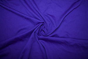 Designer Rayon Double Knit - Deep Purple