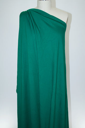 1 3/4+ yards of Designer Rayon Double Knit - Emerald