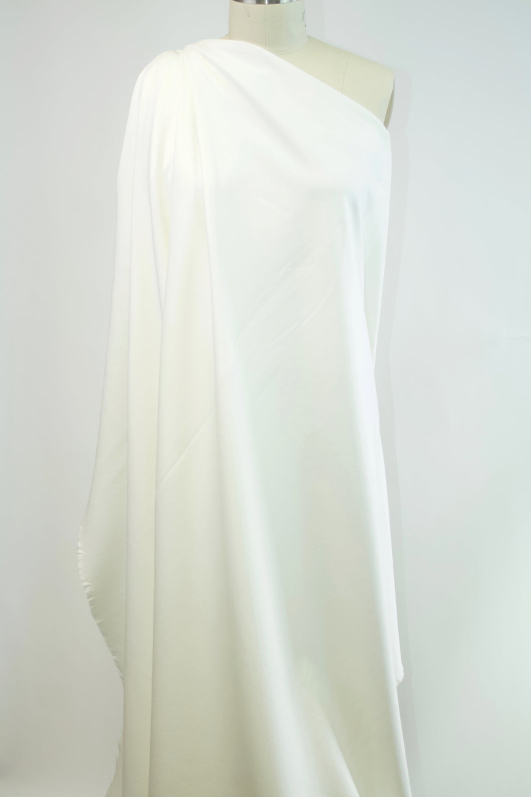 Designer Rayon Double Knit - Barely Off-White