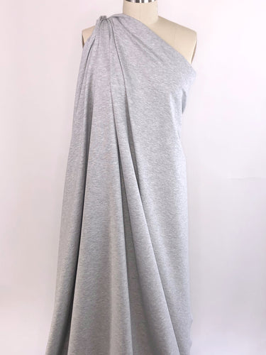 Designer Rayon Double Knit - Heathered Light Gray