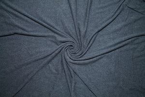 Soft and Velvety Rayon Jersey - Charcoal Gray