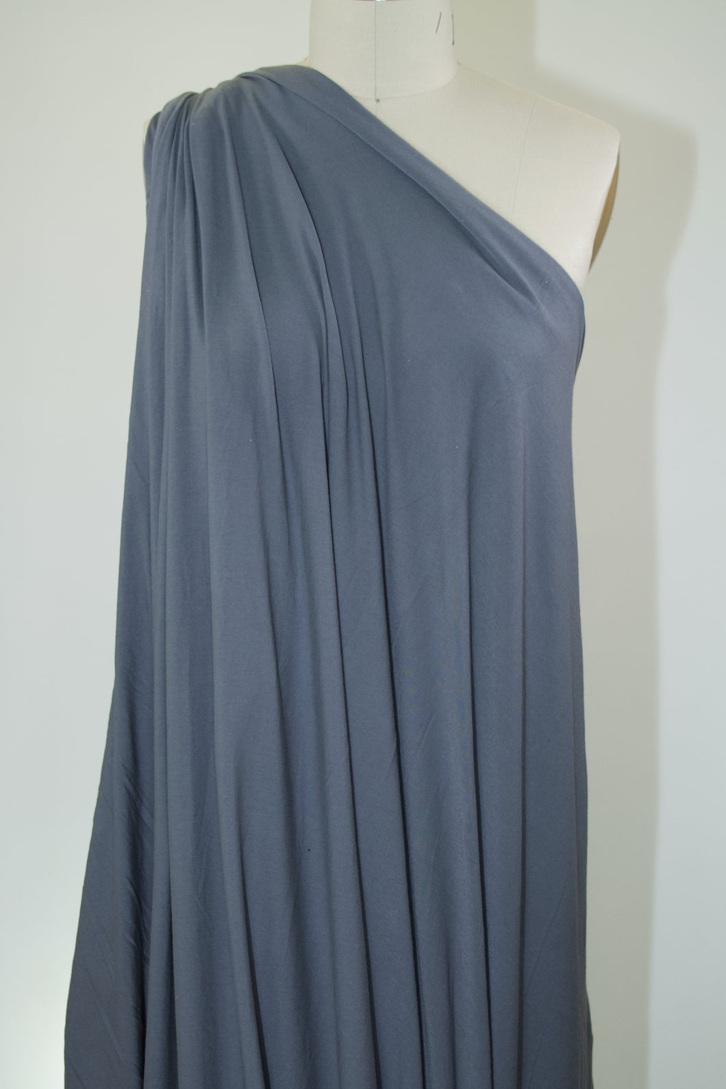 Anne Kle!n Soft Rayon Jersey - Medium Gray