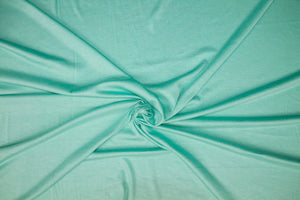 Super Soft Rayon Jersey - Swimming Pool Aqua