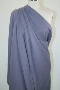 Rayon-Linen Blend Broadcloth - Gray